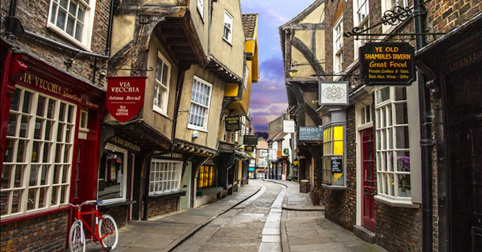 This Amazingly Preserved Medieval Street in England is Like a Living Time Capsule
