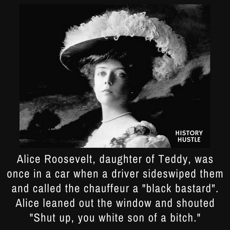 History Hustle Alice Rossevelt