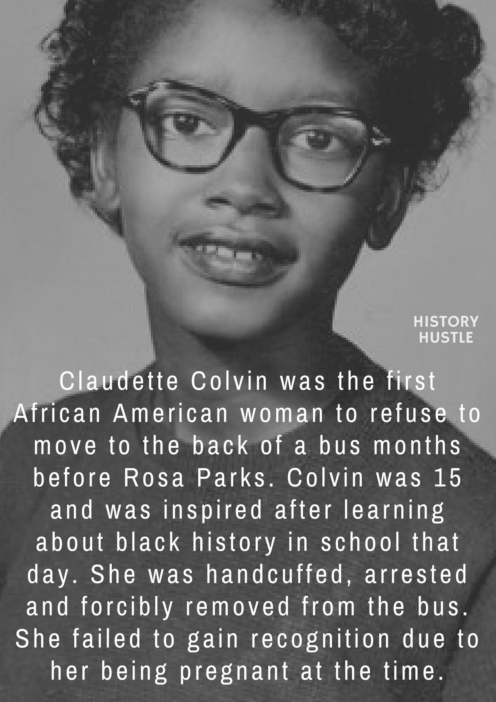 History Hustle Claudette Colvin fact fact