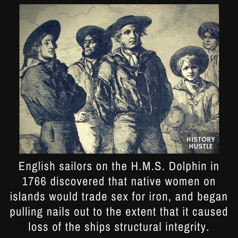 History Hustle HMS Dolphin fact