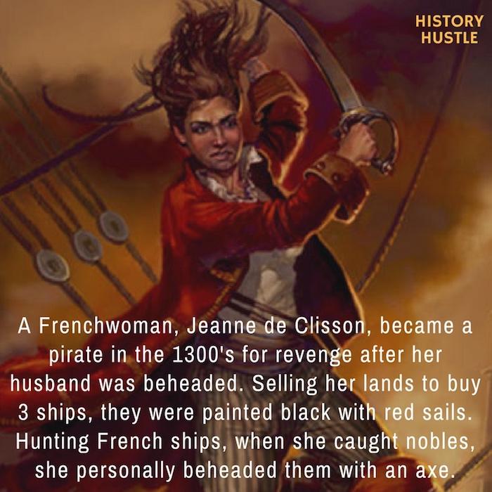 History Hustle Jeanne de Clisson