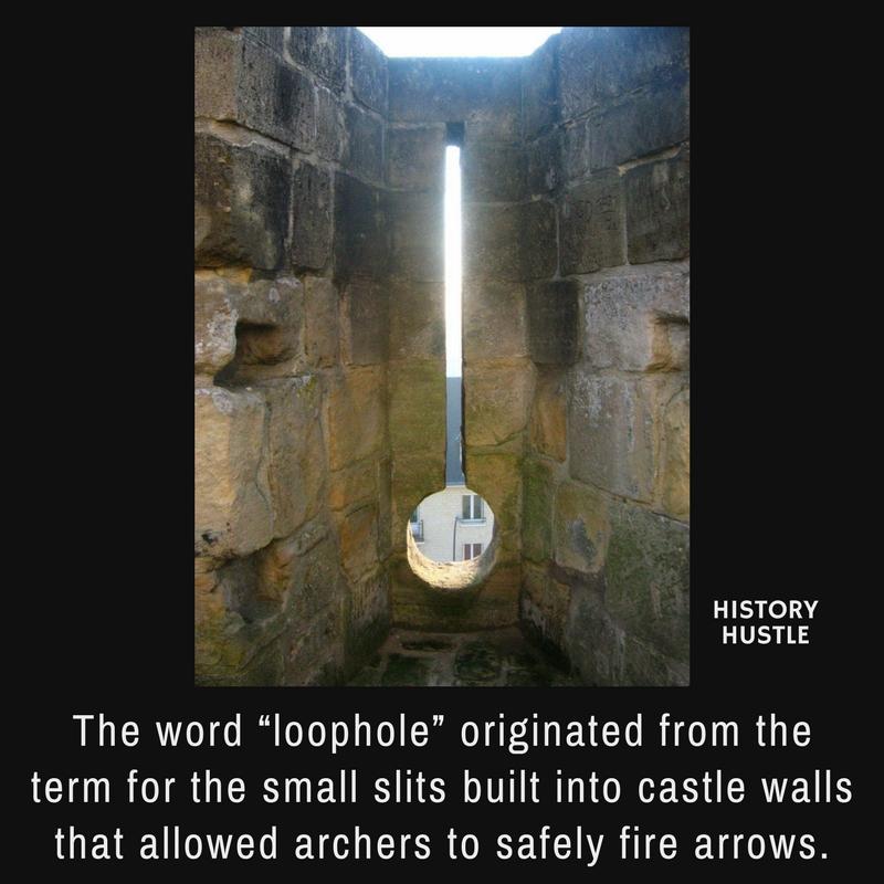 History Hustle loophole fact