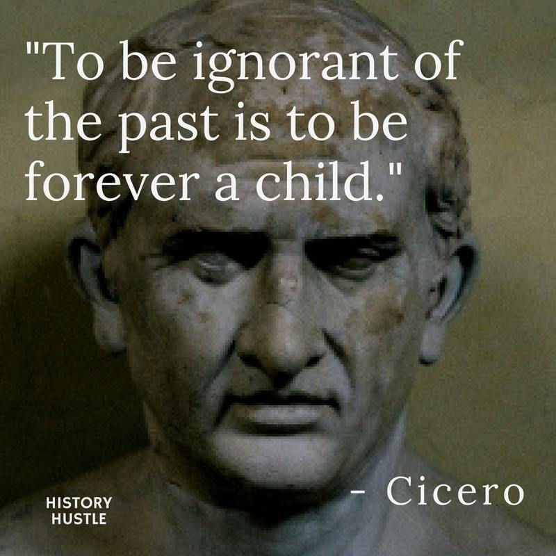 History Hustle Cicero 2 quote