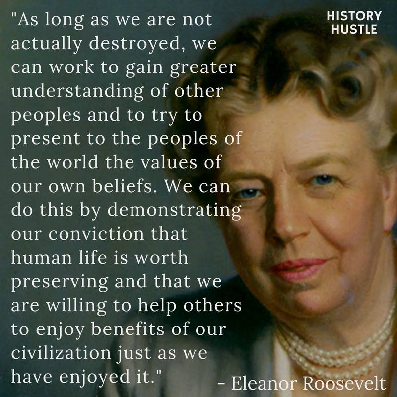 History Hustle Eleanor Roosevelt