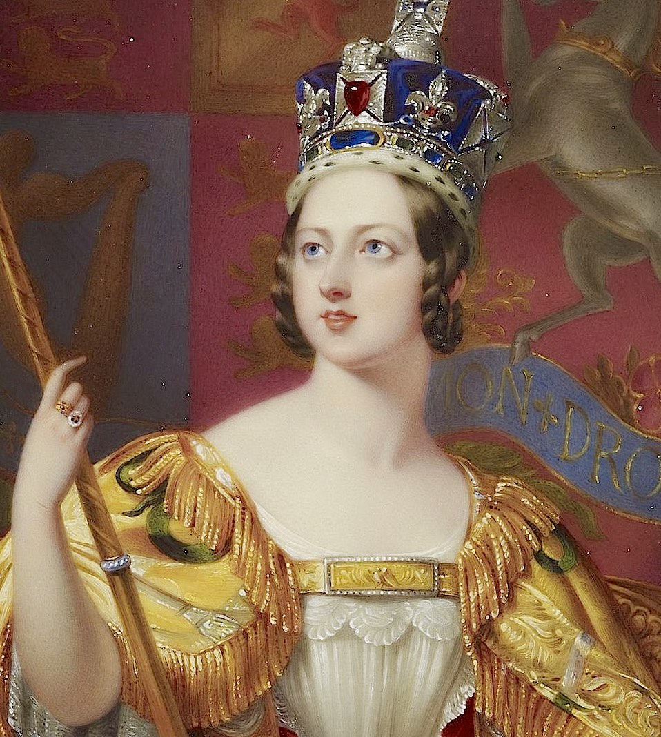 Queen Victoria Coronation History Hustle image