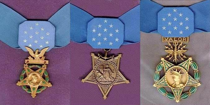 Three medal of honor History Hustle