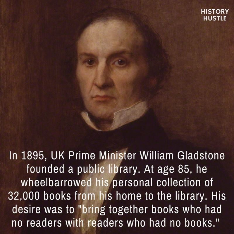 William Gladstone History Hustle fact