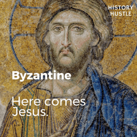 Art History in 90 Seconds History Hustle Byzantine image