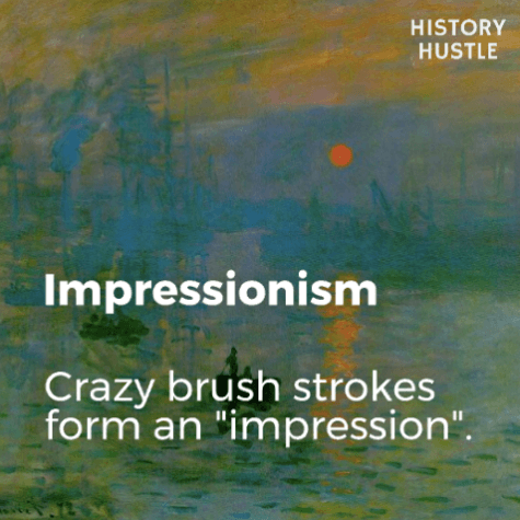 Art History in 90 Seconds History Hustle Impressionism image