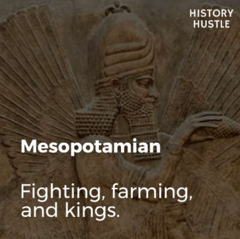 Art History in 90 Seconds History Hustle Mesopotamia image