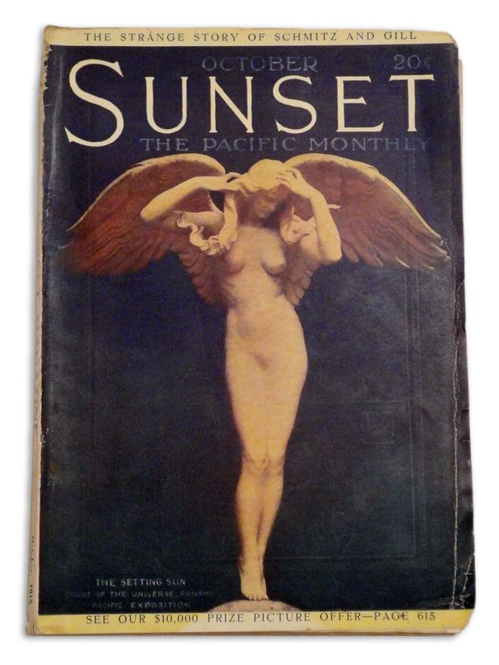 Cover of magazine Audrey Munson W image
