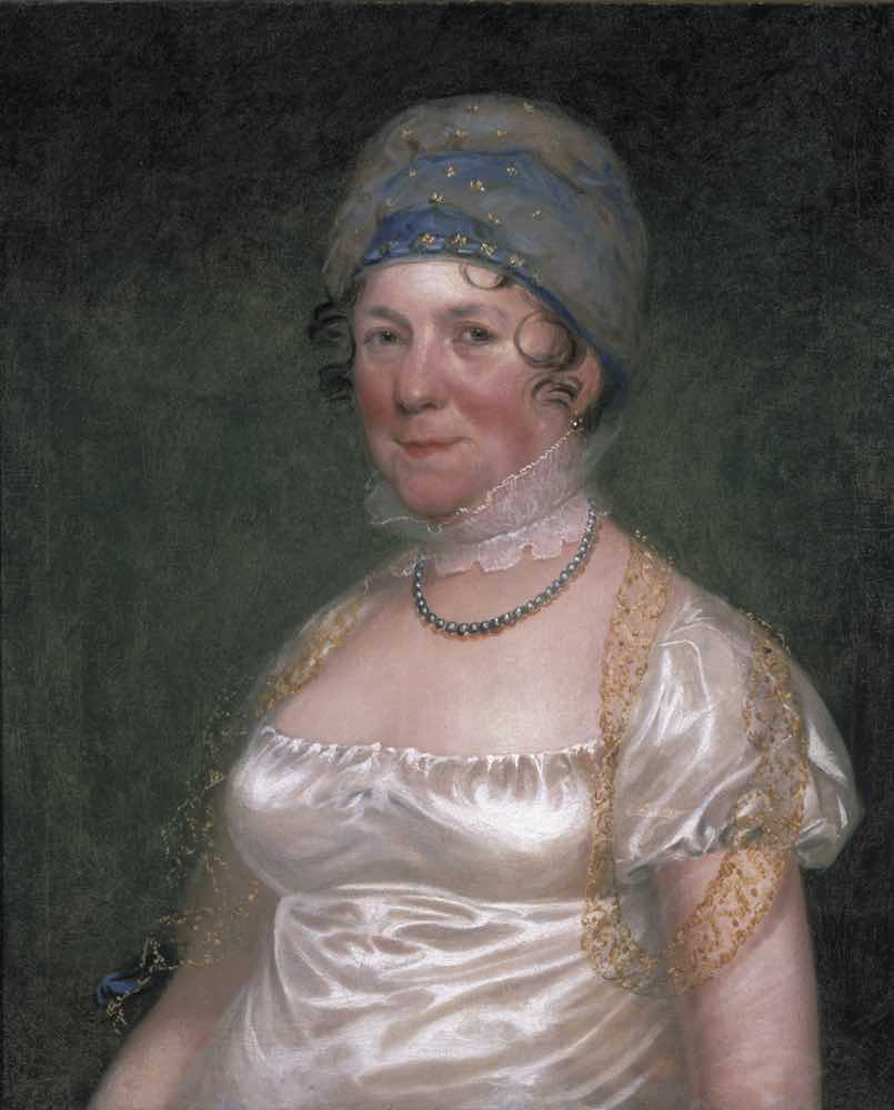 Dolley Madison portrait image