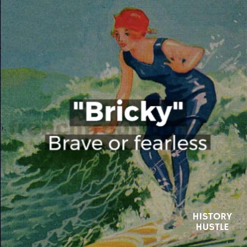 History Hustle Victorian Slang Bricky image