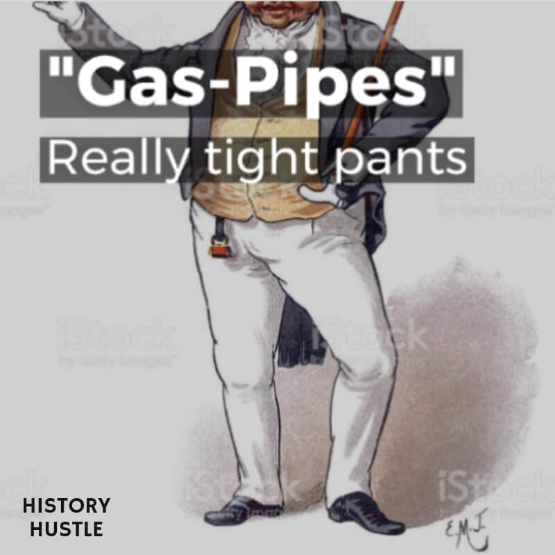 History Hustle Victorian Slang Gas Pipes image