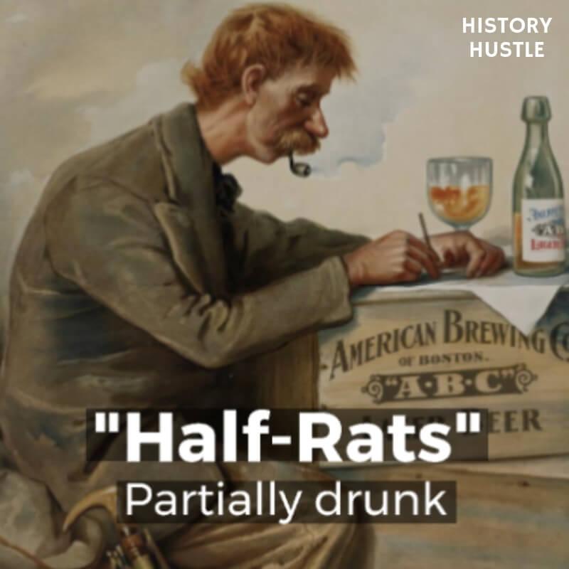 History Hustle Victorian Slang Half Rats image