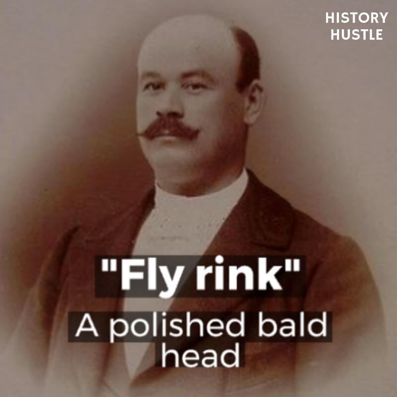 History Hustle Victorian Slang fly rink image