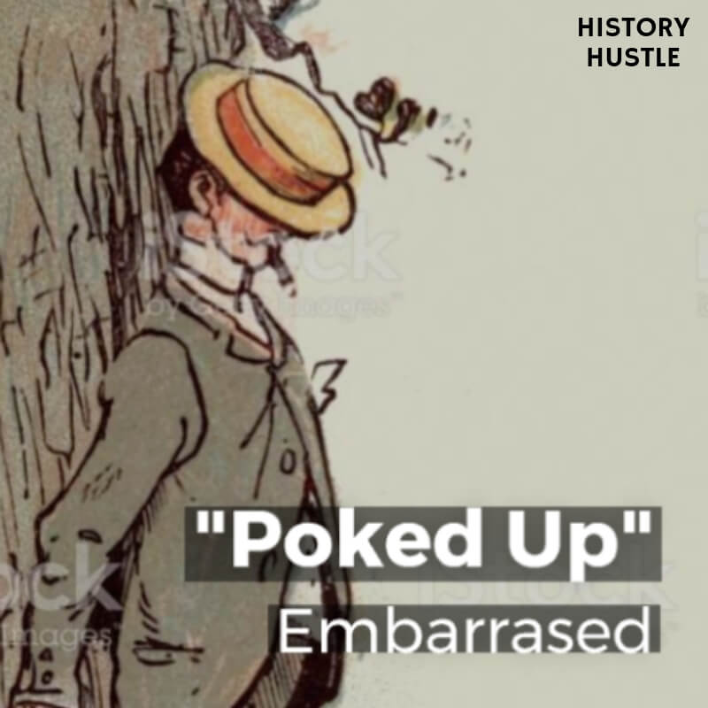 History Hustle Victorian Slang poked up image