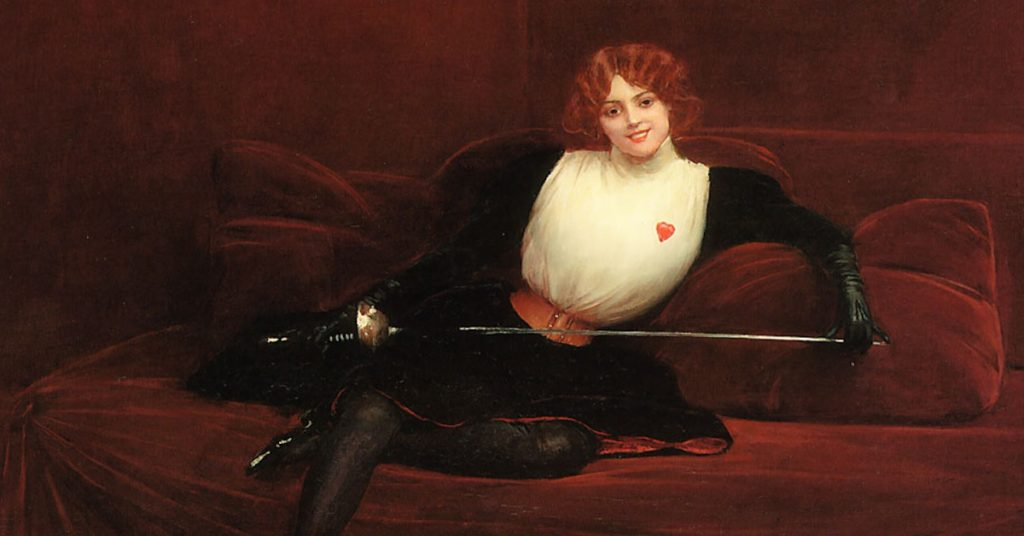 Mademoiselle Maupin, the 17th-century bisexual sword-fighting singer