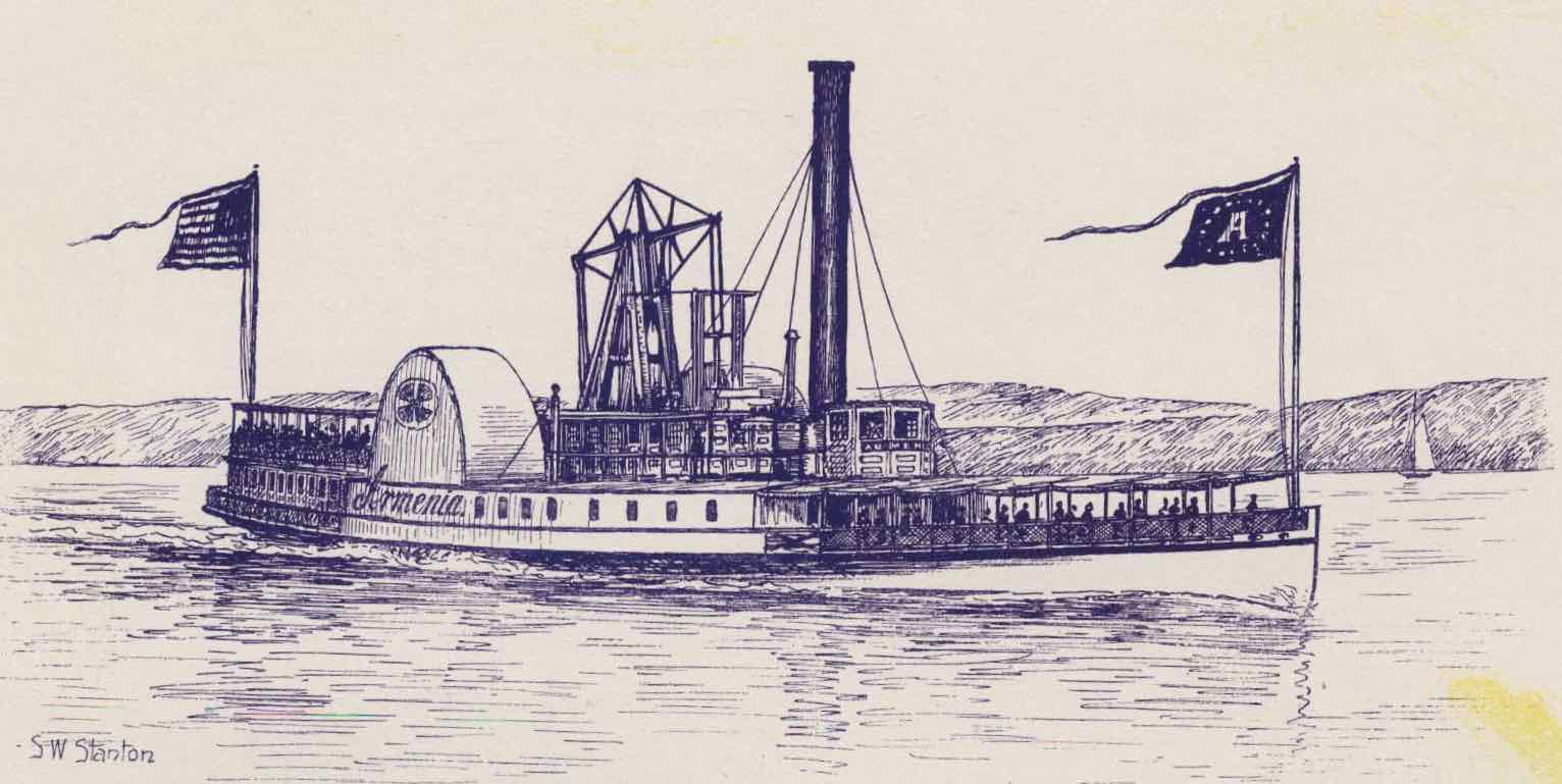 Mid-19th-century steamboat History Hustle image