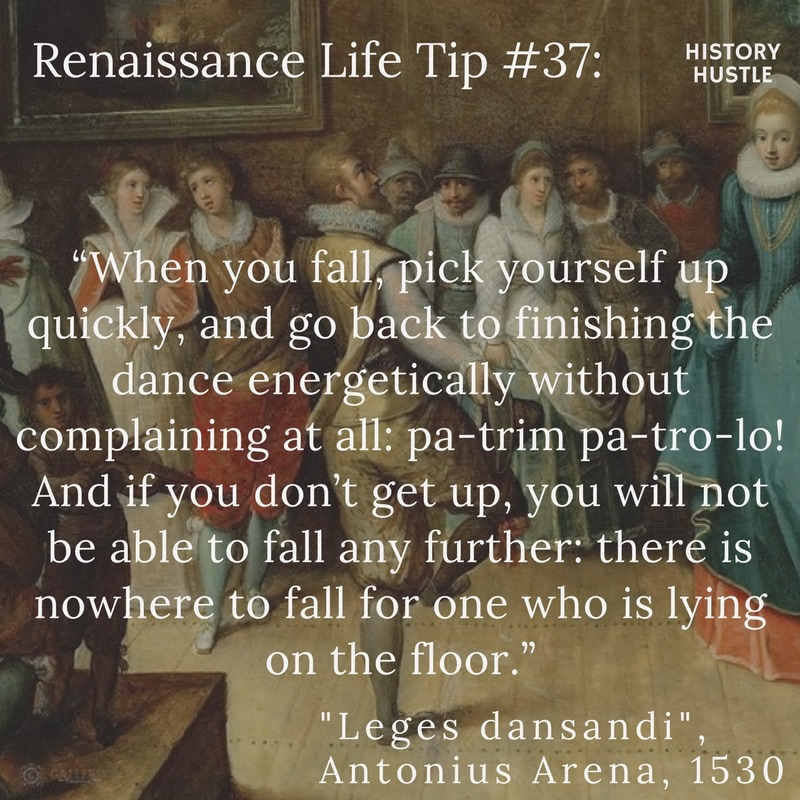 History Hustle Renaissance Life Tip 37 image