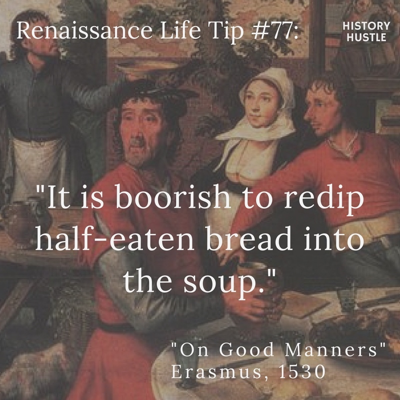 History Hustle Renaissance life tip 77 (1) image