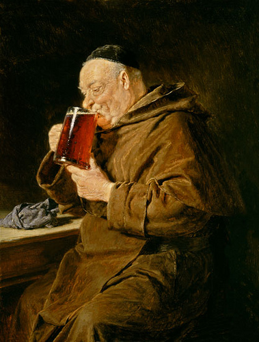 History Hustle monk beer introvert image