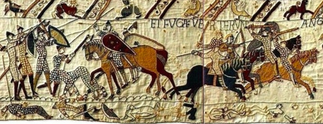 History Hustle Bayeux Tapestry battle image
