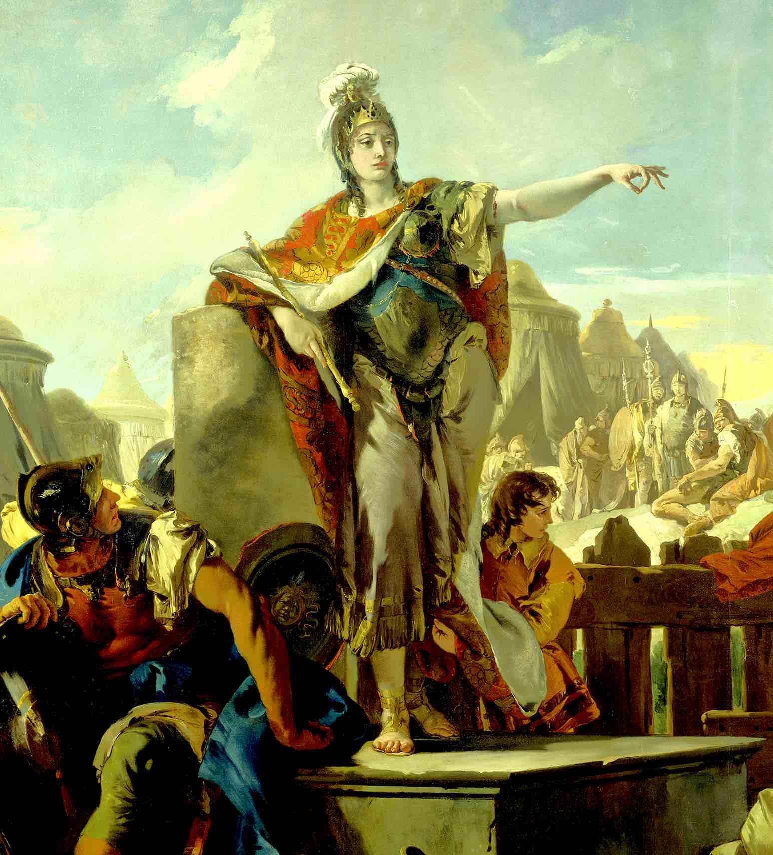 History Hustle Zenobia queen of palmyra image