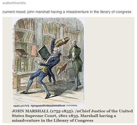 History Hustle John Marshall meme image