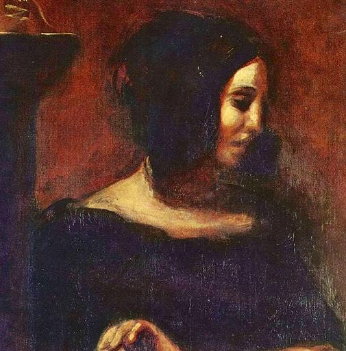 George Sand painting history hustle image