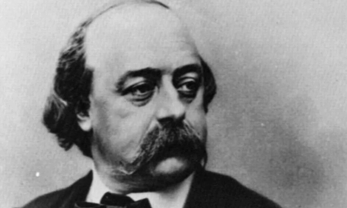 Gustave Flaubert mustache man history hustle
