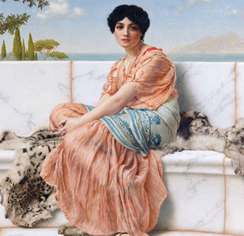 Sappho Greek words for love History Hustle Jennifer Gold image