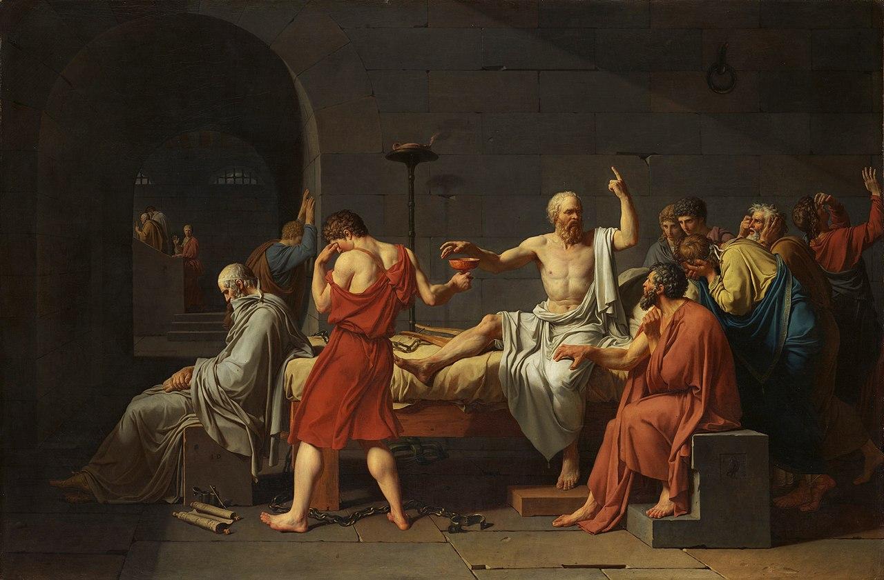 Socrates Greek words for love History Hustle Jennifer Gold image