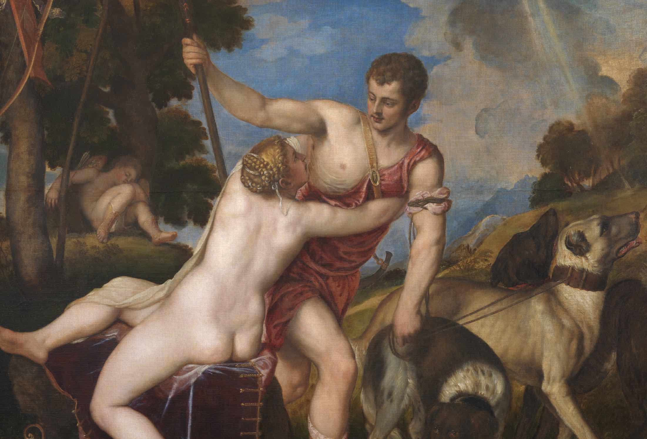 Venus and Adonis Greek words for love History Hustle Jennifer Gold image