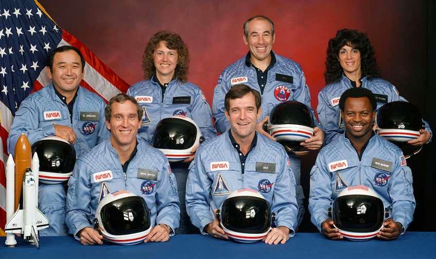 Challenger crew image