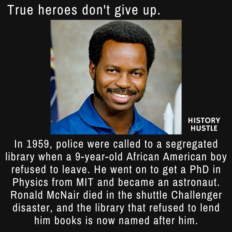 Copy of History Hustle Ronald McNair fact image