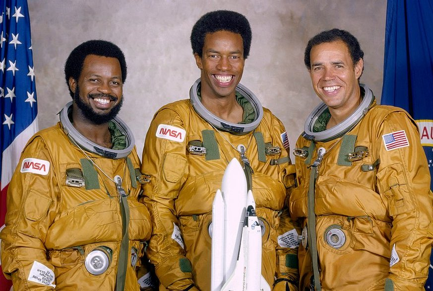 Ronald McNair History Hustle First Three Black Astronauts image