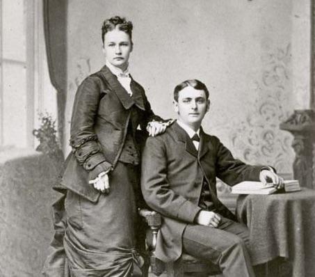 Susanna Salter and husband history hustle image