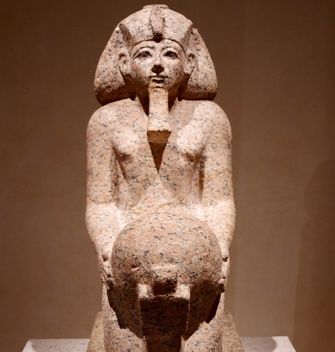 Hatshepsut History Hustle stone statue