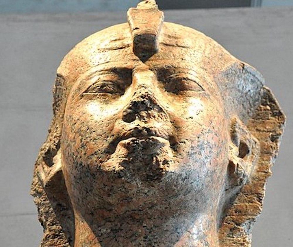 Hatshepsut head stone