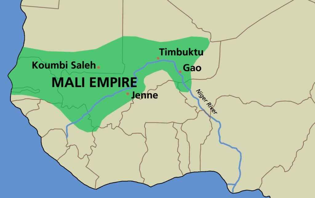 map mali empire