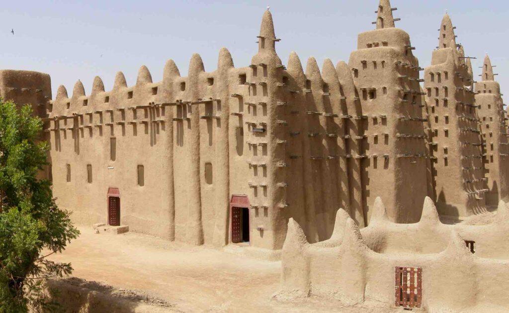 mali empire building