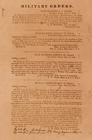 Juneteenth general order 3