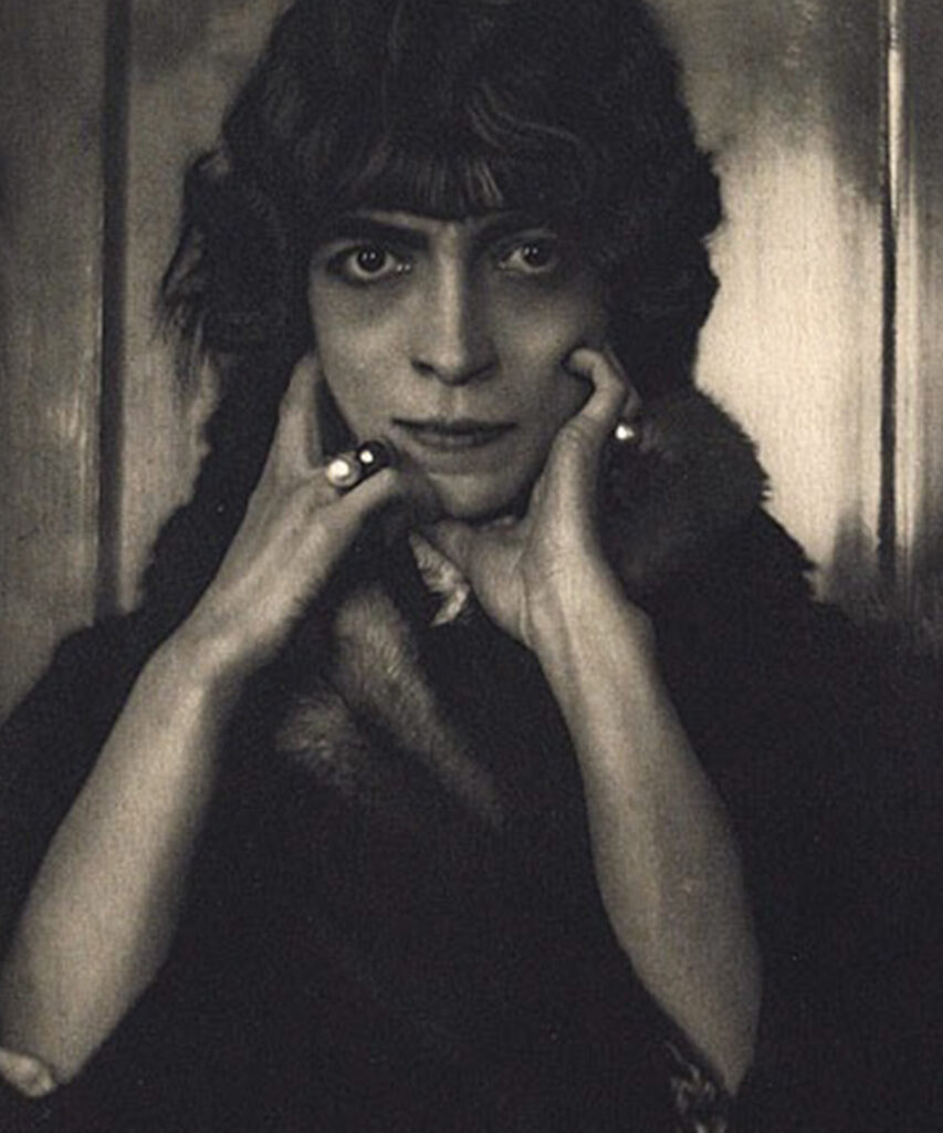 Luisa Casati by Adolf de Meyer