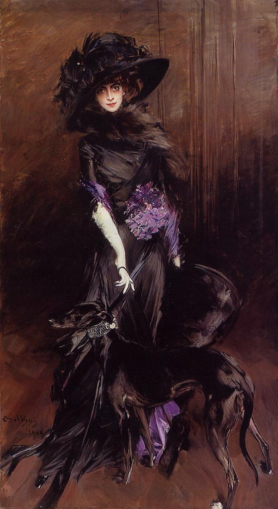 portrait Luisa Casati by Giovanni Boldini