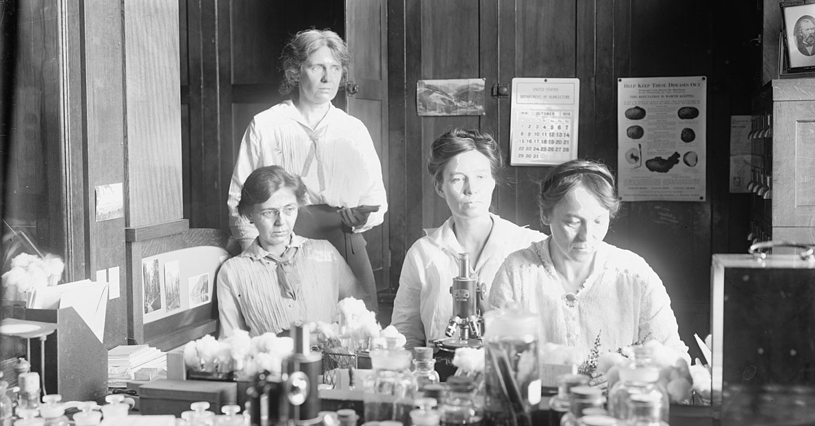 women scientists at work