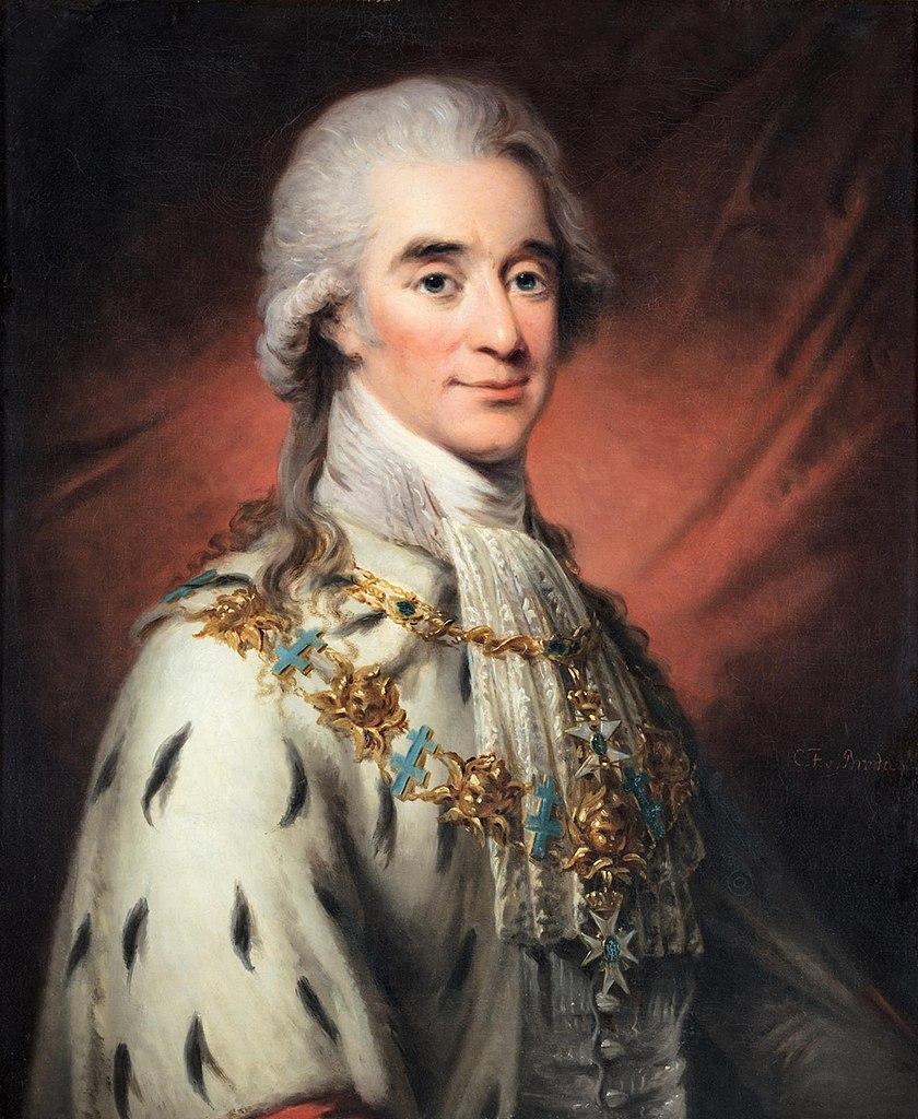 portrait of Hans Axel von Fersen