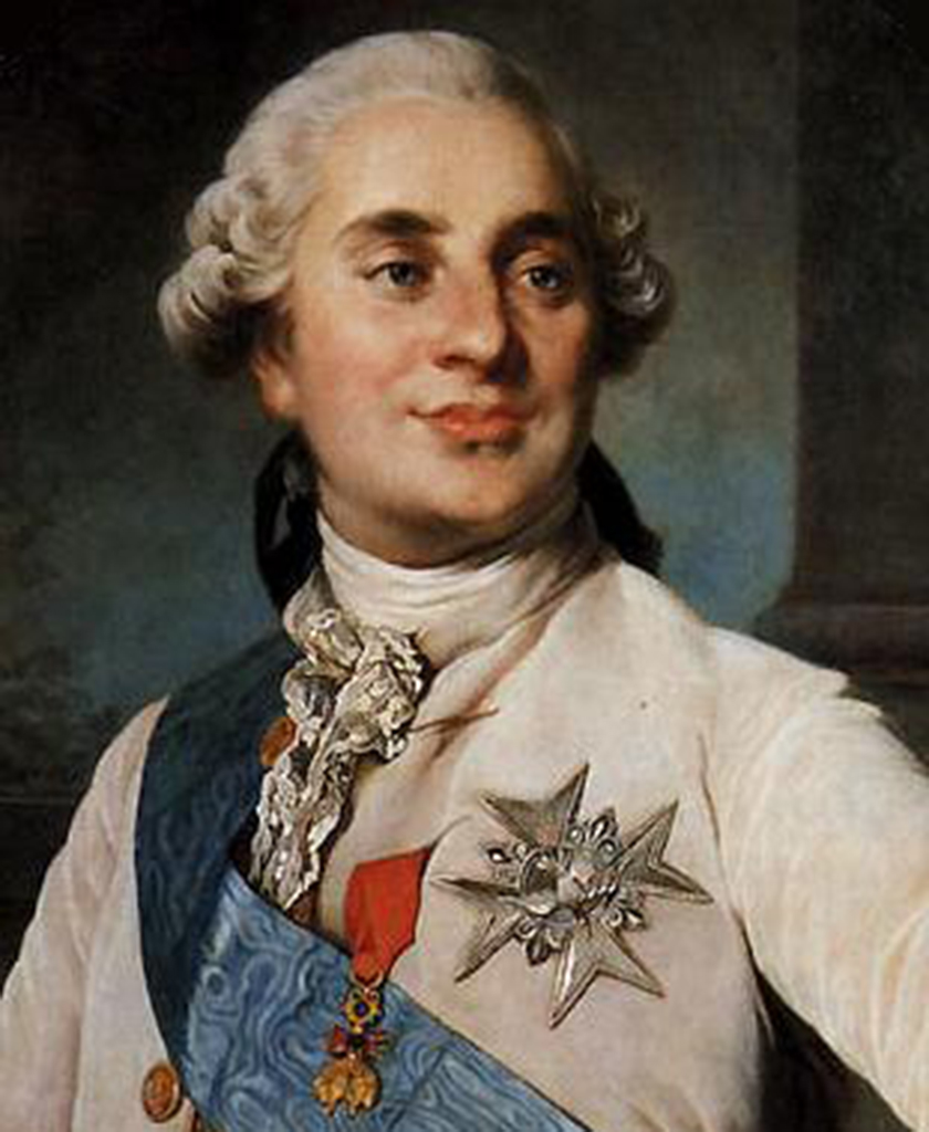 portrait of King Louis XVI of France
