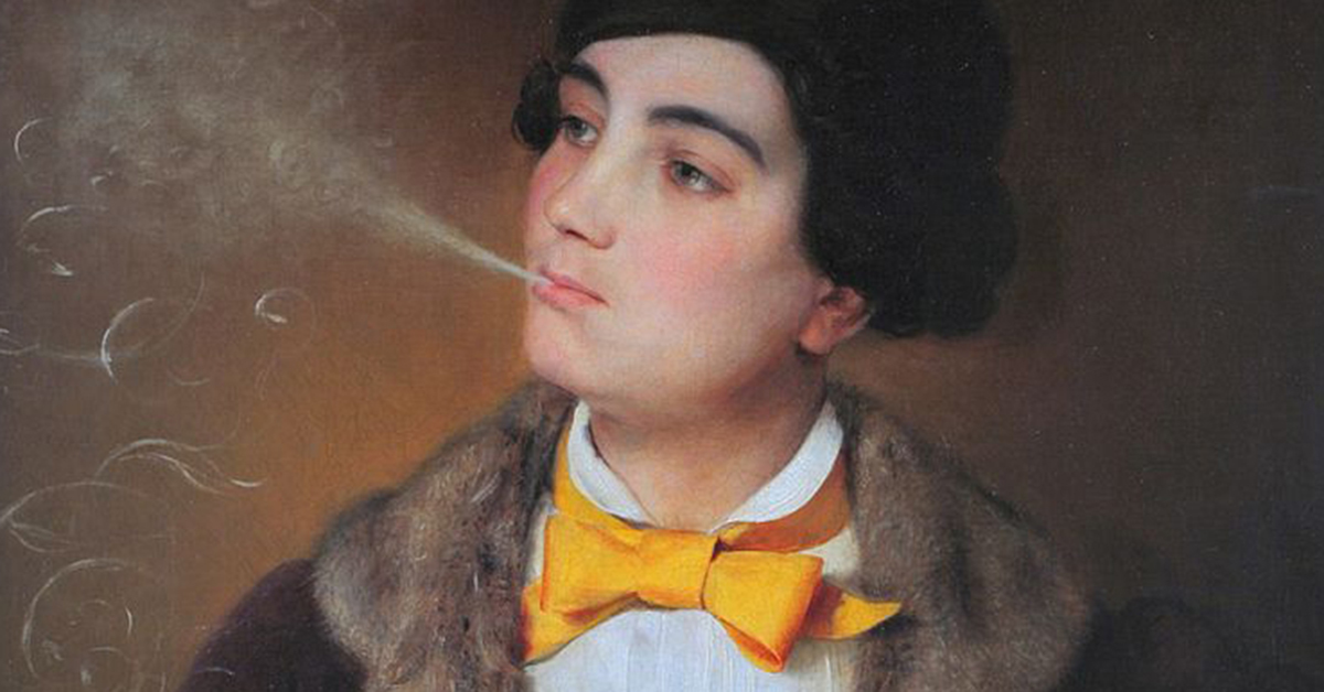 Louise Aston, by Johann Baptist Reiter, featured image