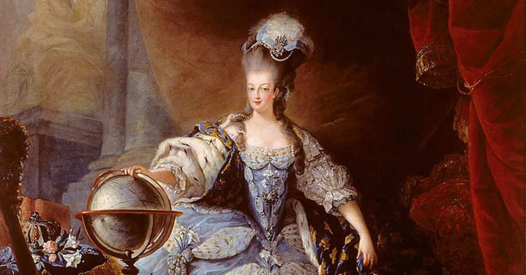 portrait of Queen Marie Antoinette, featured image